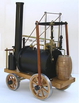 Trevithicks Puffing Devil Model Steam Engine
